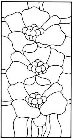 78 Best Stained Glass Coloring Pages for Adults images