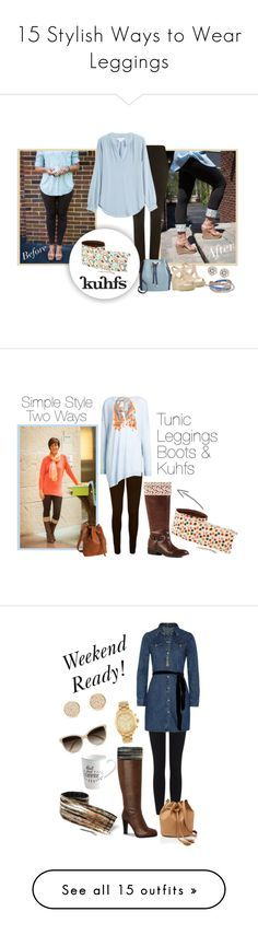 15 Stylish Ways to Wear Leggings. Dress them up or dress them down. Leggings are a wardrobe staple. Elevate your leggings style with Kuhfs. Women's fashion Accessory   Style Inspiration   Summer Outfits   Winter Outfits   Fall Outfits   Spring Outfit www.kuhfs.com