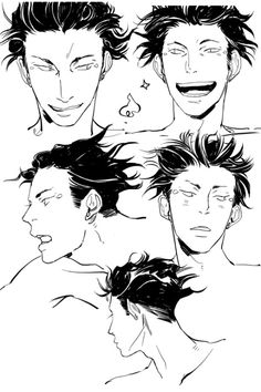 Magnus expressions to match Alec. Now that I've decided on a look for him, I'm rather enjoying the many expressions of Magnus and his hair products.-- Cassandra Jean