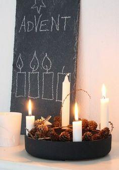 54 besten diy adventskranz ideen bilder auf pinterest in. Black Bedroom Furniture Sets. Home Design Ideas
