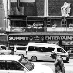 The Summit Club, one of Joburg's most famous strip clubs. Claim street, Hillbrow. just above the Hillbrow indoor swimming pool.