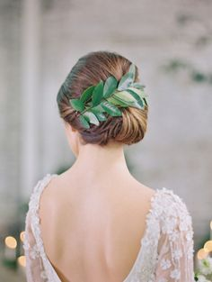 Leafy goddess: http://www.stylemepretty.com/collection/2904/