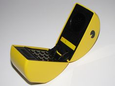 Pac-Man Telephone circa 1982- when the burger phone dies...the pac man will have to do next!