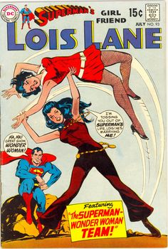 LOL Another shot of Lois Lane getting her butt kicked by Wonder Woman (Lois was dreaming)