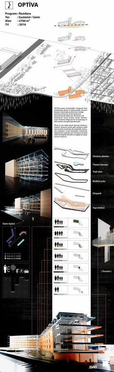 Optiva Residential Project / Izmir Projects, Log Projects, Blue Prints