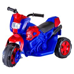 Kid Trax Spiderman Motorcycle Battery-Powered Ride-On Toy Bmw M6, Pit Bike, Jaguar Xk, Ride On Toys, Motorcycle Style, Kids Motorcycle, Little Ones, Kids Toys, Baby Toys