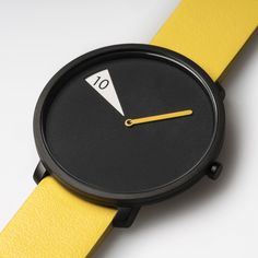 freakishwatch reveals 24 hours lined up onto an aluminium disc | Designboom Shop