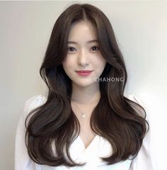 Hairstyles For Layered Hair, Haircuts For Long Hair, Hairstyles Haircuts, Pretty Hairstyles, Korean Long Hair, Asian Hair, Medium Hair Styles, Long Hair Styles, Shot Hair Styles