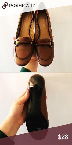 4cfae0e05c4 Etienne Aigner Brown Leather Heels Etienne Aigner Brown Leather Heels. Shoes  are in great condition Etienne Aigner Shoes Heels