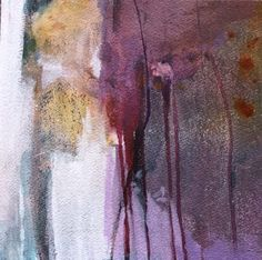 """Contemporary Artists of Colorado: Contemporary Abstract Art Painting """"Closer Look"""" by Intuitive Artist Joan Fullerton"""