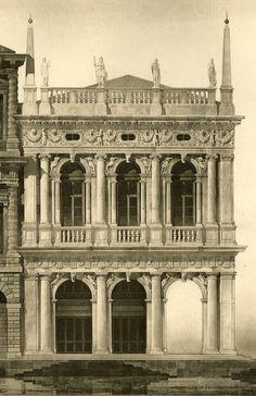 Jacopo Sansovino architect - Rendering of Library of St. Marks