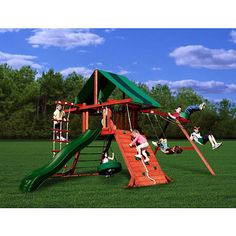 Wooden Swing Set, getting some ideas