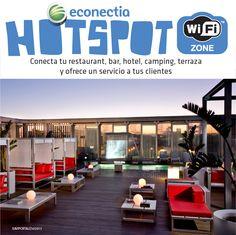 Campaña #Hotspot #wifi en #hosteleria de #econectia