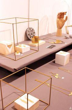 Idée de présentation des bijoux.