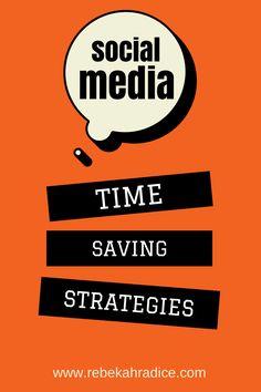 5 Time Saving Strategies for Social Media Success. Smart advice, good links to tools too Social Media Training, Social Media Services, Social Media Tips, Social Networks, Digital Marketing Strategy, Social Media Marketing, Mobile Marketing, Marketing Strategies, Marketing Plan