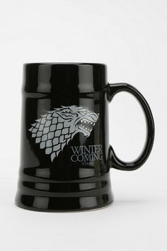 Game Of Thrones Stein from Urban Outfitters. Shop more products from Urban Outfitters on Wanelo. Casa Stark, House Stark, Valar Dohaeris, Valar Morghulis, Game Of Thrones Stein, Got Dragons, Iron Throne, Dinnerware Sets, Geek Out