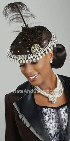 Image detail for -home new arrivals donna vinci couture church hat h1356
