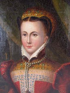Mary Queen of Scots Portrait | Continental School Portrait of Mary Queen of Scots : Lot 12
