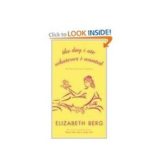 Another GREAT book by Elizabeth Berg. This will really resonate with you if you are over 50 (especially if you are from Chicago like I am!).