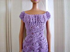 20 Free Crochet Barbie Clothes Pattern - DIY & Crafts