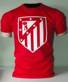 Atletico-de-Madrid-Espana-Spain-Soccer-Futbol-T-Shirt-Camiseta