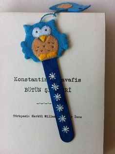 Felt bookmark - SCA Largess - make one in your Kingdom/Barony device.