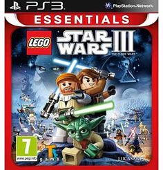 LEGO Star Wars 3 Clone Wars PS3 Game Lego Star Wars 3: The Clone Wars is an Action-Adventure game that builds on the long recognised family-friendly fun and quality game play that is the hallmark of the Lego video game franchise. Play as http://www.comparestoreprices.co.uk//lego-star-wars-3-clone-wars-ps3-game.asp