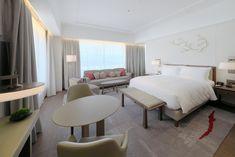"""JW Marriott Hotel Nara, Japan - dpa lighting consultants - """"Right Light, Right Place, Right Time"""" ™ #dpalighting #lightingdesign #hotellighting #guestroomlighting #floorlight #tablelamp #curtainlighting #bedroomlighting"""