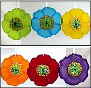 Poppy Suncatcher by Anne Nye