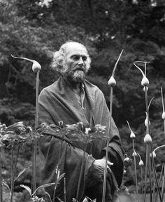 1973. Imogen Cunningham, PainterMorris Graves in His Leek Garden