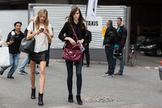 off duty contd | A Love is Blind - Paris Fashionweek ss2014 day1, outside Dries van Noten