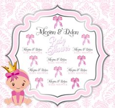 Baby Shower Step and Repeat Shower Step, Baby Shower, Repeat, Backdrops, How To Memorize Things, Templates, Prints, Babyshower, Stencils