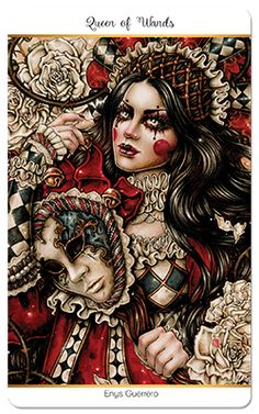 Queen of Wands, Tarot Carnival