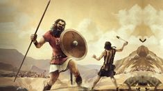 Early history of the Biblical Amorites and the other races of giants in the Bible Giants In The Bible, David Et Goliath, Rey David, Nephilim Giants, Nephilim Bones, Forex Trading Basics, King David, Ancient Aliens, Ancient Art