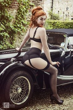 Di Alta Classe Model Lily La Rousse  Photography by Jade Photography  Make-up by Jo  Lingerie by 'Lingerie by Annette'