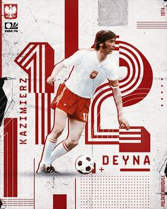 Kazimierz Deyna Soccer Poster, Retro Football, Baseball Cards, Sport Events, Sports, Hs Sports, Sport