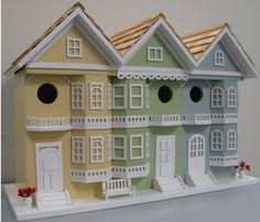 Charming Architectural Birdhouses   Traditional Home Companion