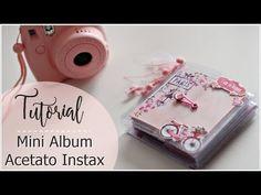 Tutorial Mini Album de ACETATO para Instax... o no