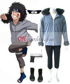 Naruto Kiba Inuzuka 1st Cosplay Costume Set