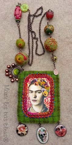 French textile artist makes 'infusettes', not sure if they are bags or just textile panels.