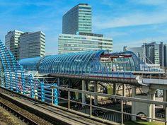 Treinstation, Amsterdam, Trein