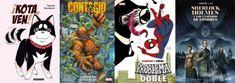 ¡KOTA, VEN!, CONTAGIO: TERROR EN NUEVA YORK, #SPIDERMAN Y #VENENO: PROBLEMA DOBLE y #SHERLOCKHOLMES Y LOS VAMPIROS DE LONDRES (reseñas de manga y comics) Takashi Murakami, Shiba Inu, Detective, Veneno, Sherlock Holmes, Spiderman, Comic Books, Manga, Comics