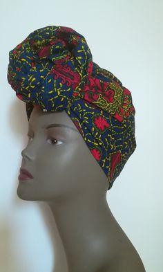 Ankara headwrap  Wax scarf  African turban  Ankara headtie  Wax fabrics aa7de913da51