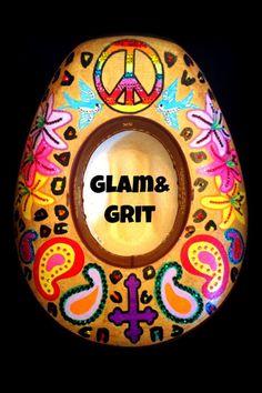 Custom Glam&Grit hat!
