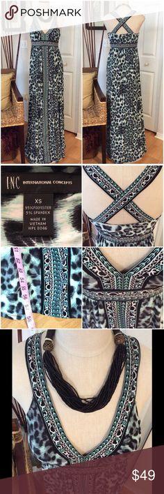 INC International Concept Maxi Dress Beautiful it's so sleek and comfortable. INC International Concepts Dresses Maxi