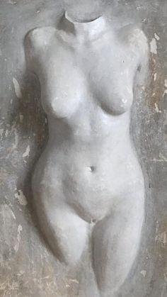 Skulptur auf Leinwand modelliert ☺️. Verschiedene hauchdünne Schichten aus Eisenspäne, Acryl, Zitrone, Essig, so entsteht eine spannende einzigartige Oberfläche.😉 Greek, Statue, Artworks, Sculptures, Canvas, Pictures, Vinegar, Lemon, Greece