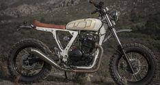 LA NIEBLA – Honda NX 650 Dominator   Nomade Cycles