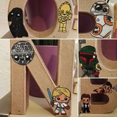 Detalles #BienvenidoBruno #starwars #diy #letrascarton #acrilico Starwars, Diy, Instagram, Lyrics, Bricolage, Star Wars, Do It Yourself, Homemade, Diys