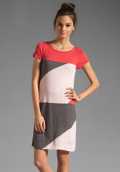 MARC BY MARC JACOBS  Resort Tanya Colorblock Jersey Dress