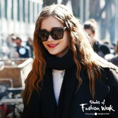 All-black everything, square sunglasses included. At the Milan Fashion Week #ShadesOfFashionWeek #MLF #sunglasses